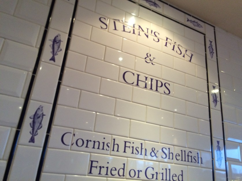 Fish and chips, Padstow, Rick Stein