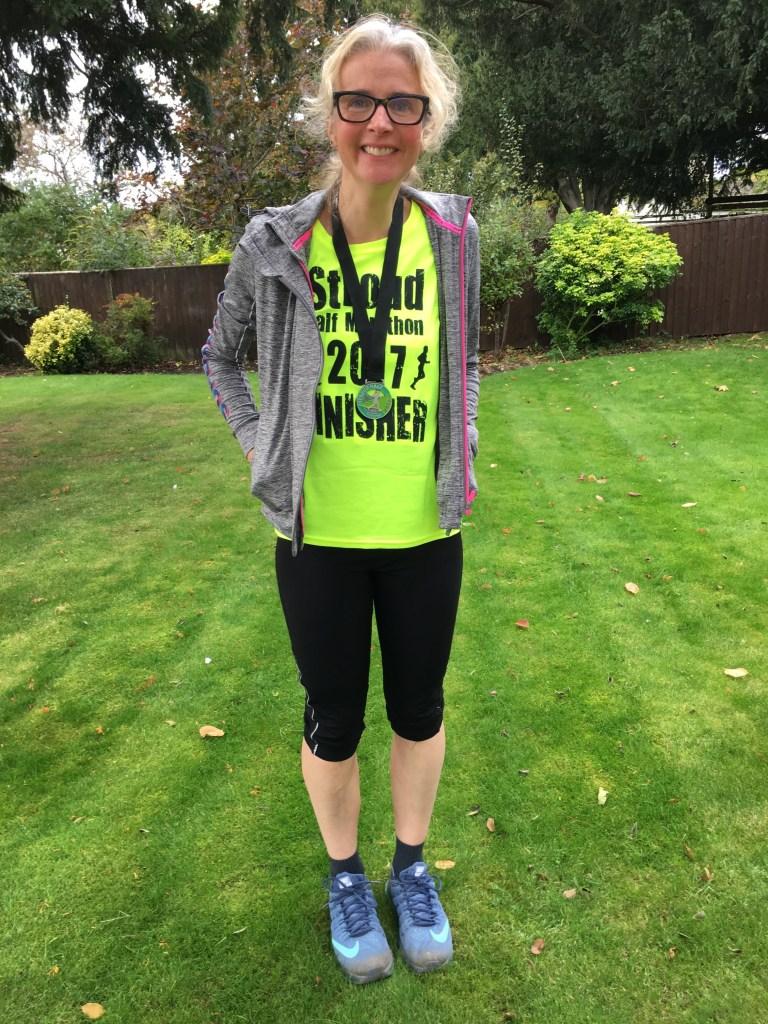 Stroud half marathon, Stroud half marathon - smashed it!