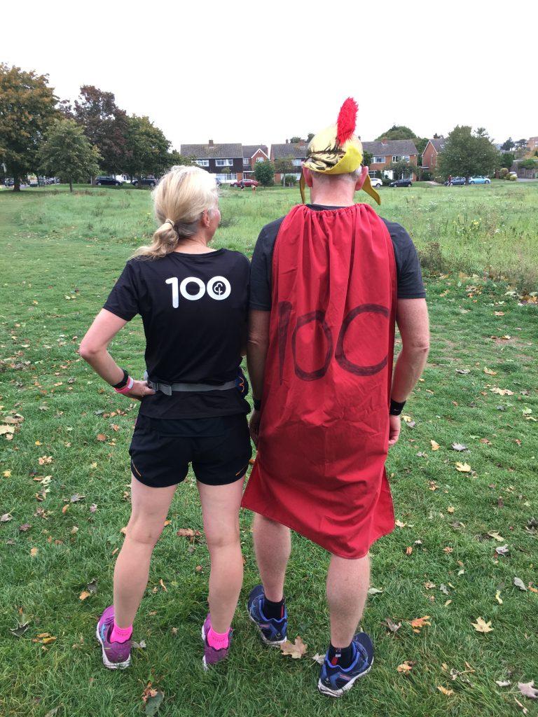 100th parkrun, Husband, parkrun, 365, My husband's 100th parkrun