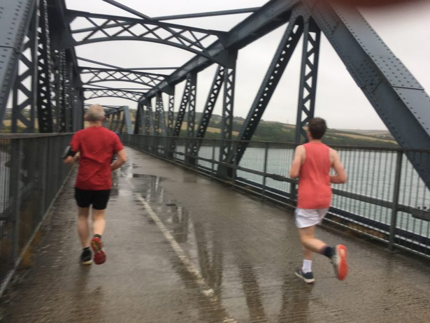 Husband, Son, Half marathon training, Running, Padstow, Camel Trail, My son: Training for his first half marathon