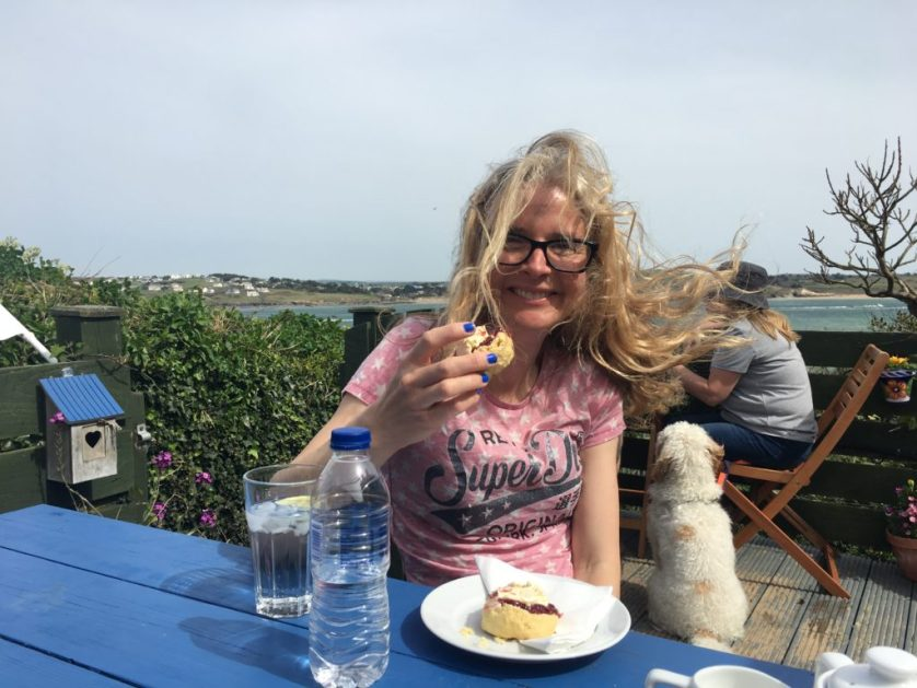 Cream tea, Padstow, Cornwall, Holiday, 365