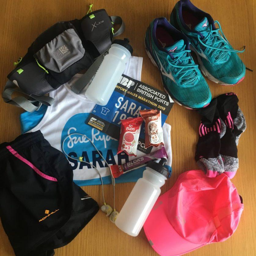 Marathon, Newport marathon, Running kit, Silent Sunday, Sunday Snap
