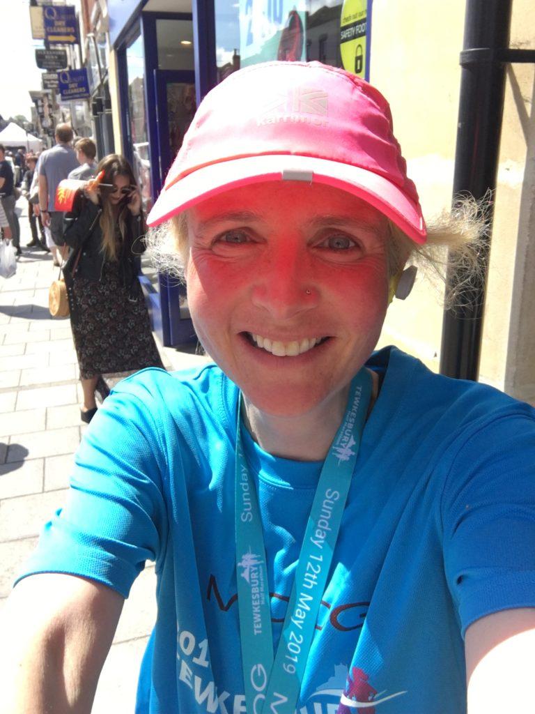 Tewkesbury half marathon, Half marathon, Finish line, Selfie