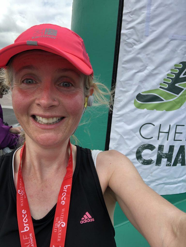 Cheltenham Challenge, Cheltenham Challenge half marathon, Medal, Half marathon