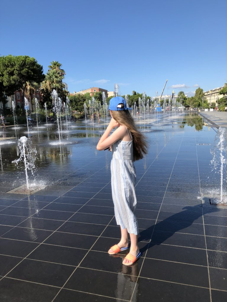 Promenade du Paillon, Nice, Holiday, France, Daughter, 365