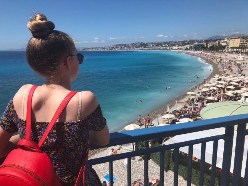 Nice, Sea, France, Holiday, Holiday to Nice with teenagers, Daughter