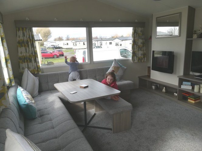 Deluxe 3 bedroom caravan at Haven Craig Tara resort