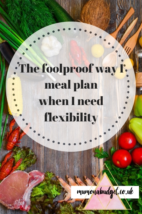 meal planning - the foolproof, flexible way I meal plan