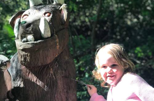 The Gruffalo at Culzean Castle