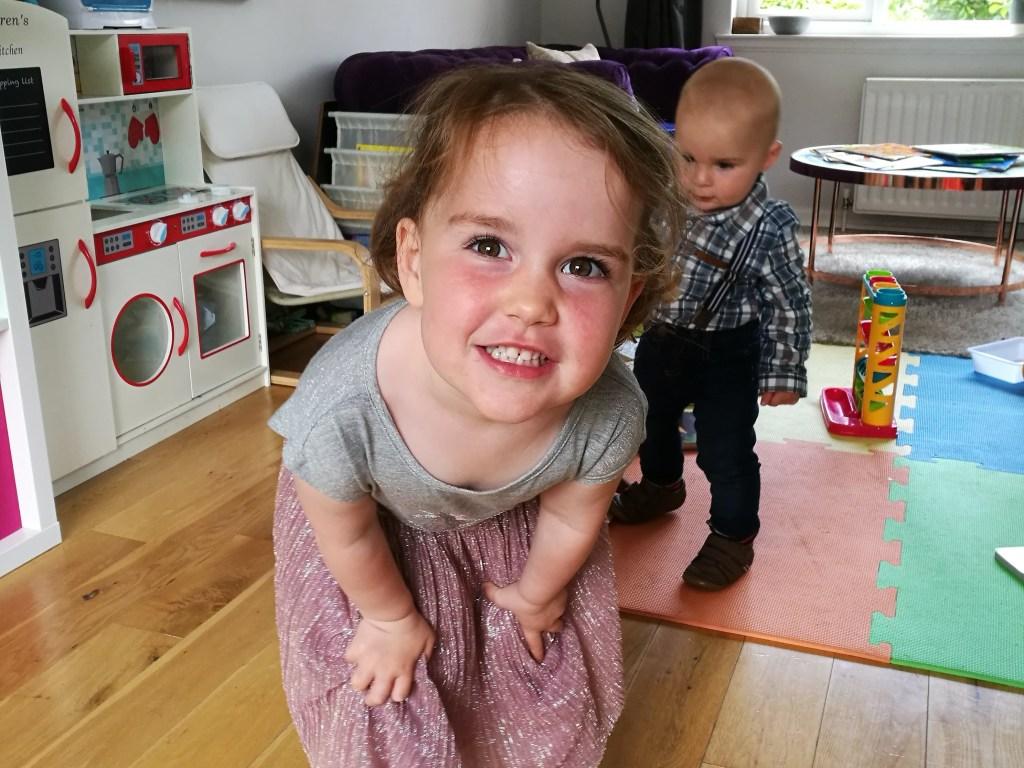 Lauren is 3!