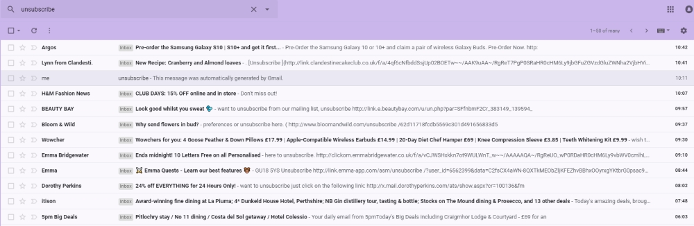 declutter your gmail