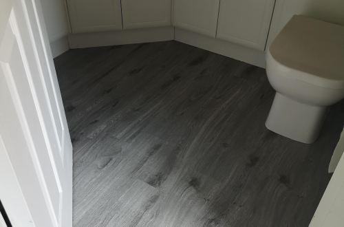 b&m self adhesive floor planks