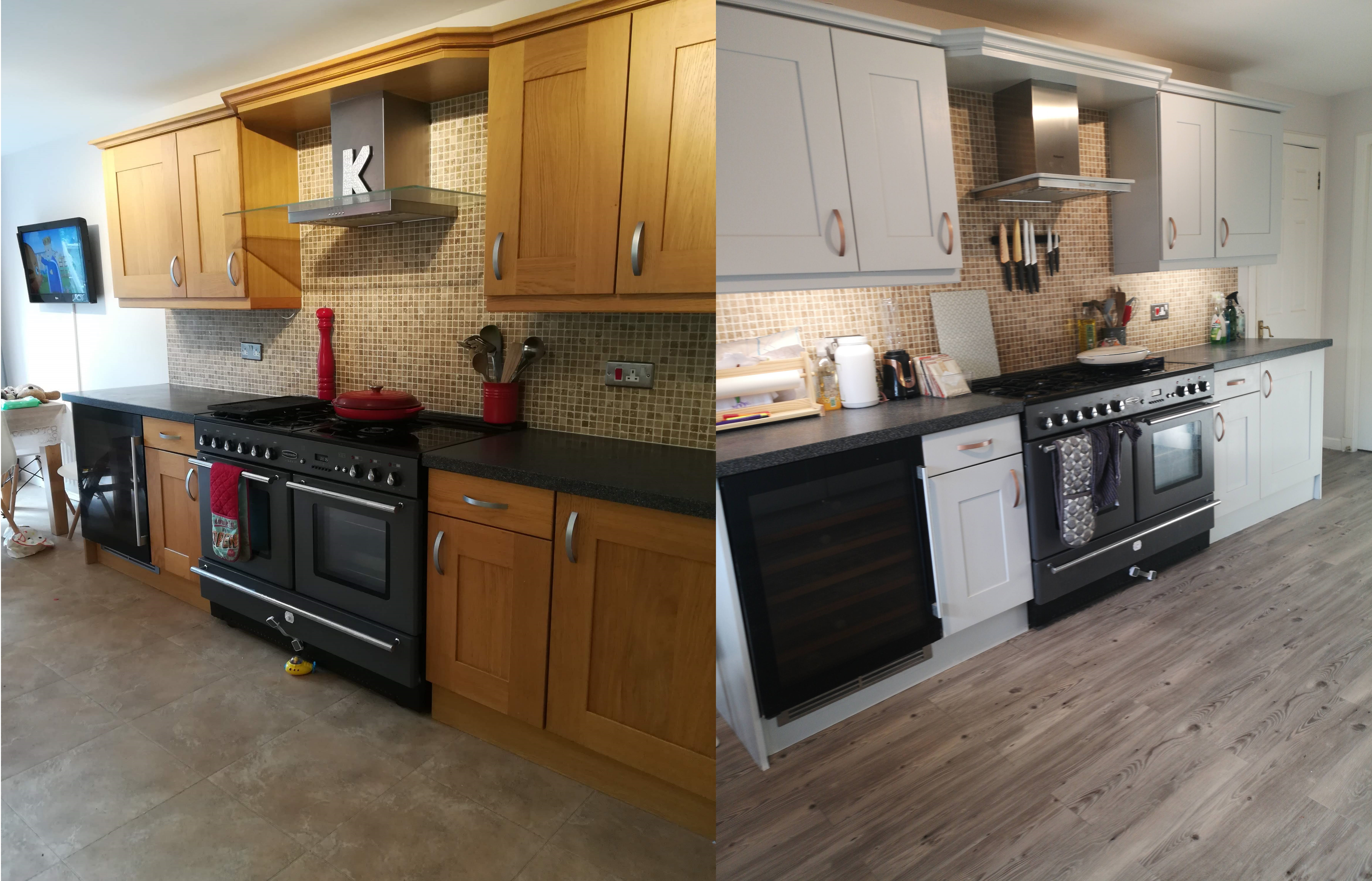 Cheap Kitchen Renovation: how I transformed my kitchen for under £250