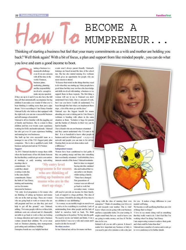 How To Become a Mumpreneur