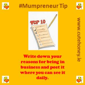 Mumpreneur Tip 5