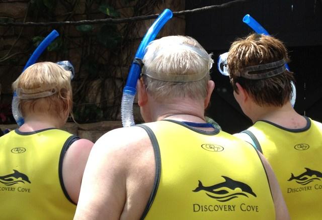 Discovery Cove Orlando aviary. Copyright Gretta Schifano.