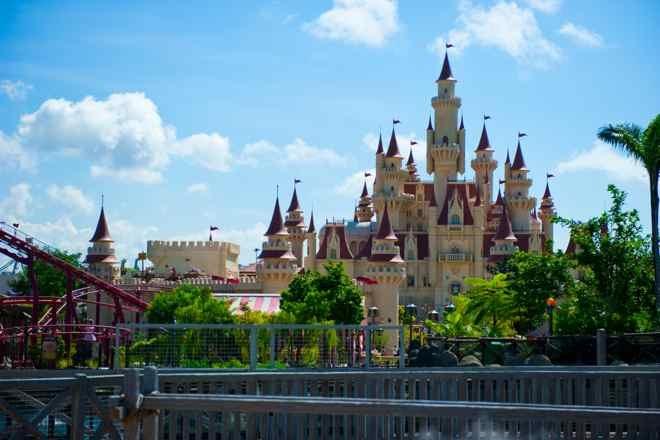 Castle, Universal Studious, Sentosa, Singapore. Copyright Singapore Tourism Board