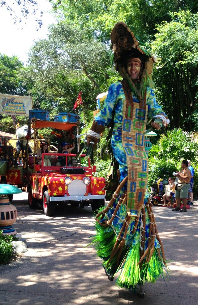 Parade at Disney's Animal Kingdom. Copyright Gretta Schifano