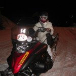 Snowmobiling in Italy