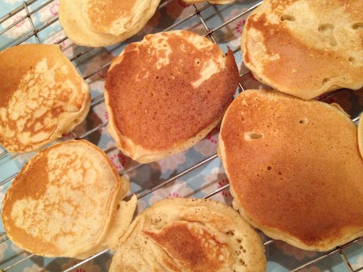 Scotch pancakes. Copyright Gretta S