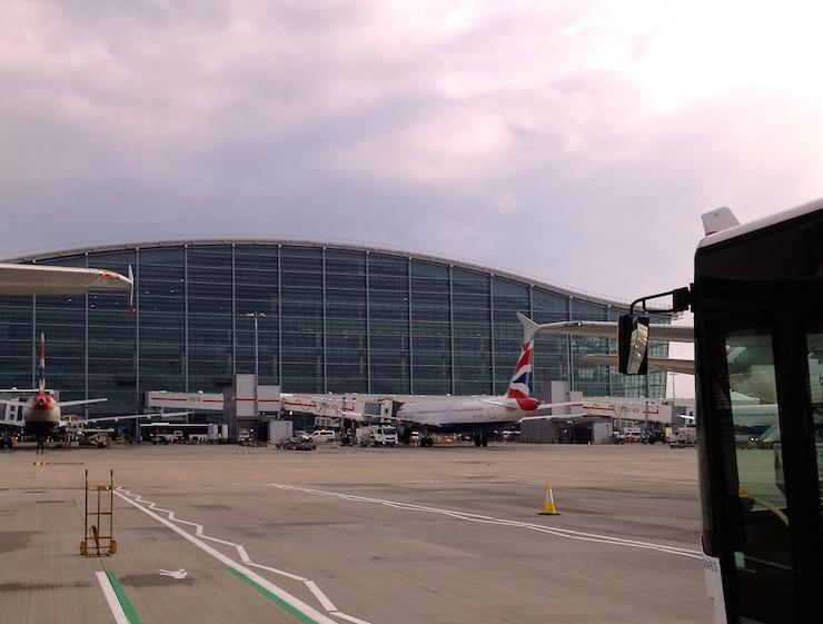 London Heathrow Airport T5. Copyright Gretta Schifano