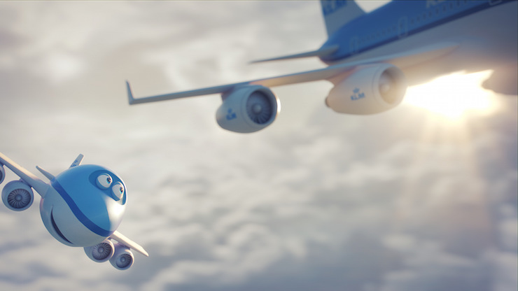 New KLM kids' film: 'Bluey the Movie'