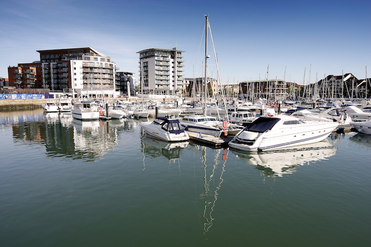 Ocean Village, Southampton. Image courtesy of Tourism South East