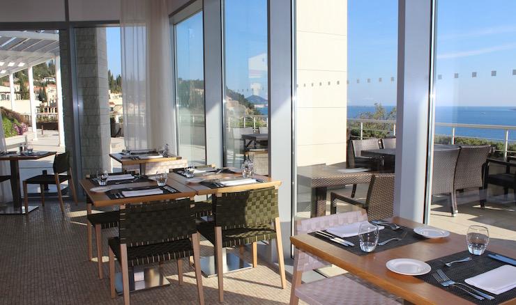 Oliva restaurant, Dubrovnik Sun Gardens resort. Image copyright Gretta Schifano