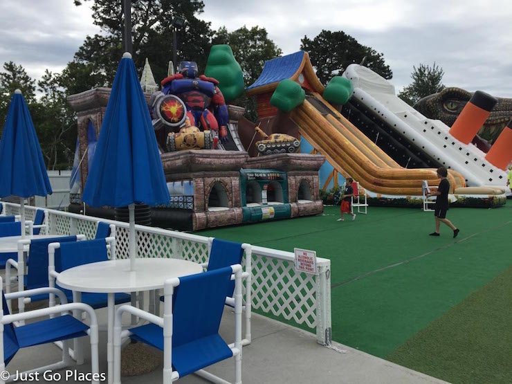 Cape Cod Inflatable Park. Copyright Just Go Places