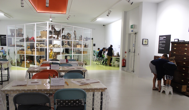 Gallery 6, Powell-Cotton Museum, Quex Park. Copyright Gretta Schifano