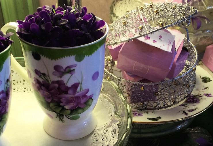 Parma Color Viola shop. Copyright Gretta Schifano