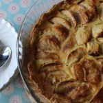 French cooking with apples and cream