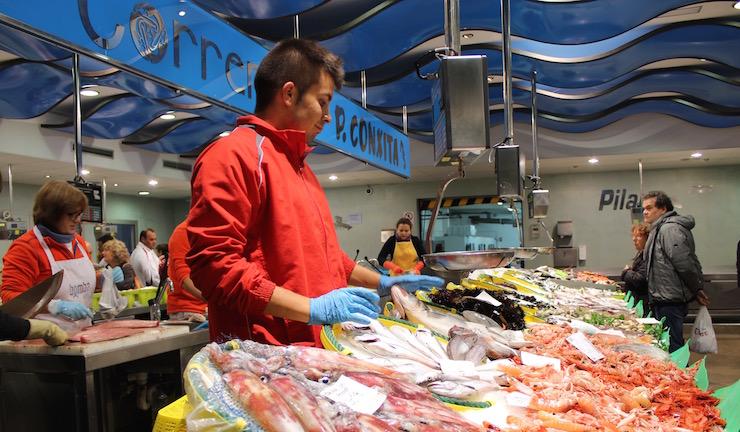 Palamós fish market. Copyright Gretta Schifano