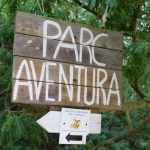 Zip wire adventure on the Costa Brava