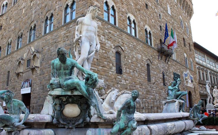 Piazza della Signoria, Florence. Copyright Gretta Schifano