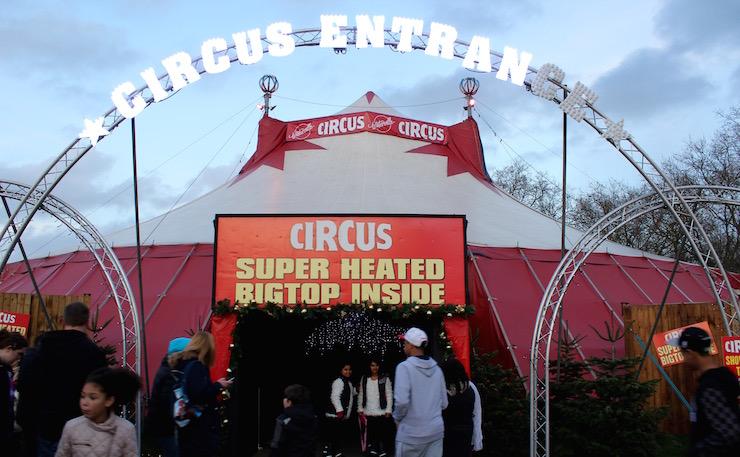 Circus, Winterville. Copyright Gretta Schifano
