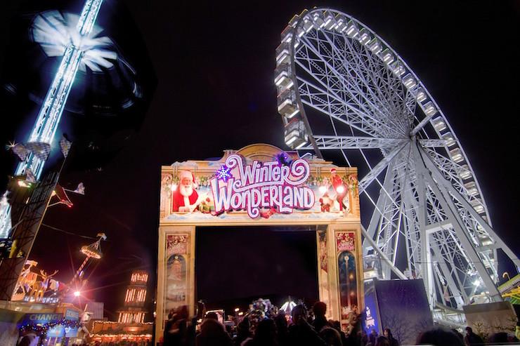 Winter Wonderland, Hyde Park, London. Copyright Winter Wonderland