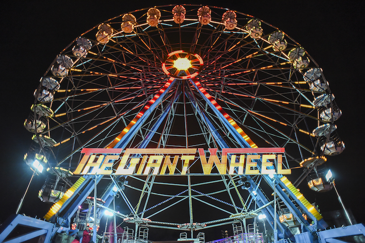 Winterville Big Wheel. Copyright Winterville