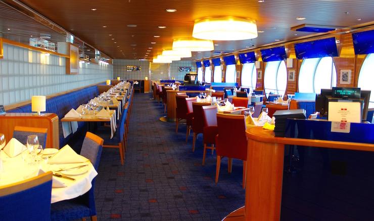 Restaurant, Stena Line ferry. Copyright Gretta Schifano