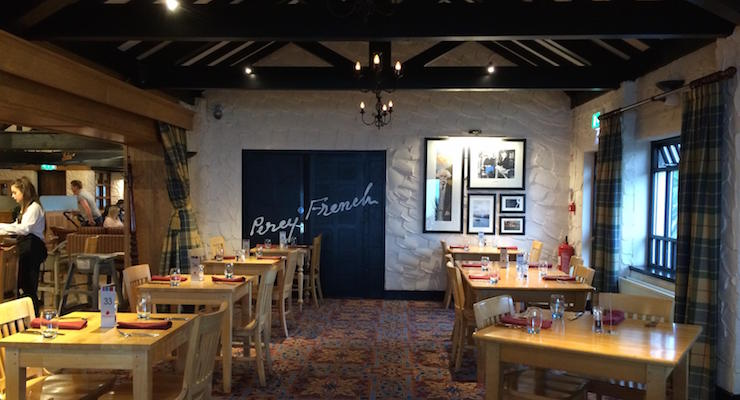 Percy French Inn at Slieve Donard Resort & Spa. Copyright Gretta Schifano