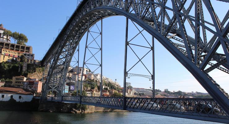 Dom Luis I Bridge, Porto. Copyright Gretta Schifano
