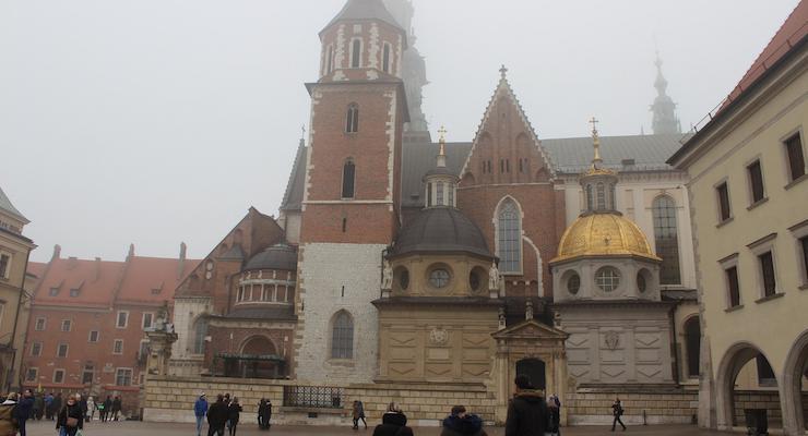 Wawel Cathedral, Kraków. Copyright Gretta Schifano