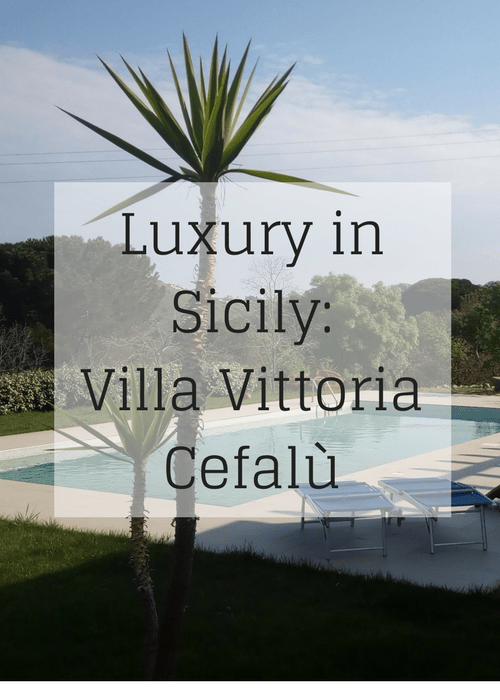 Review of Villa Vittoria, a luxury holiday rental with a pool, in the Madonie Park, near the coastal town of Cefalù on the Italian island of Sicily.