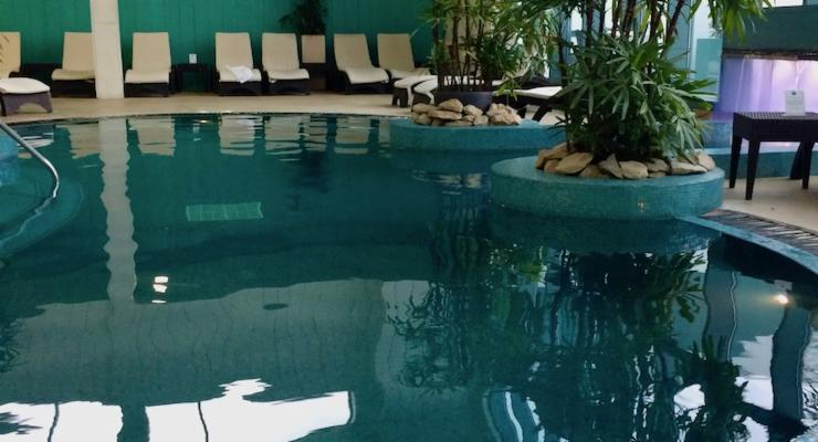 Indoor pool, The Malvern Spa. Copyright Gretta Schifano