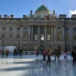 Ice skating at Somerset House, London. Copyright Gretta Schifano
