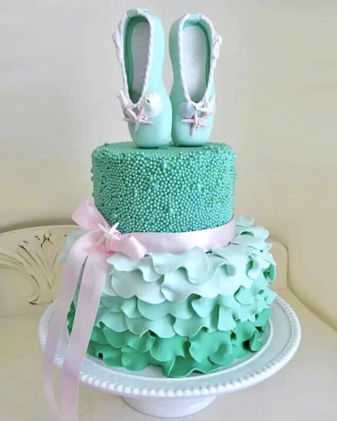 17 Ballerina Cakes For Your Tiny Dancer Mum S Grapevine
