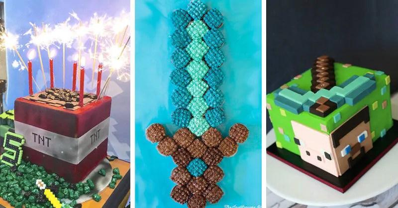 25 Inspirational Minecraft Cake Ideas Guide
