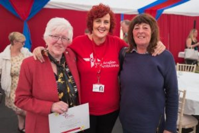 Mums Off Duty, East Anglian Air Ambulance, volunteering