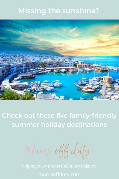 Mums Off Duty, family-friendly summer holiday