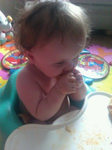 Review - Bumbo Baby Sitter & Tray 3